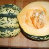 Simple Microwaved Winter Squash