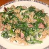 Spring vegetables! Broccoli Rabe and Pasta Toss