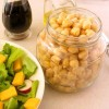 Easy Marinated Chickpeas, for Salad