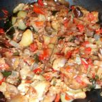 Ratatouille – or… Using Up Vegetables