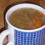 A bowl of lentil soup - wwww.inhabitedkitchen.com