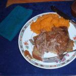 Easy Pot roast in Slow Cooker
