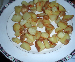 Crisp browned potatoes - Inhabited Kitchen