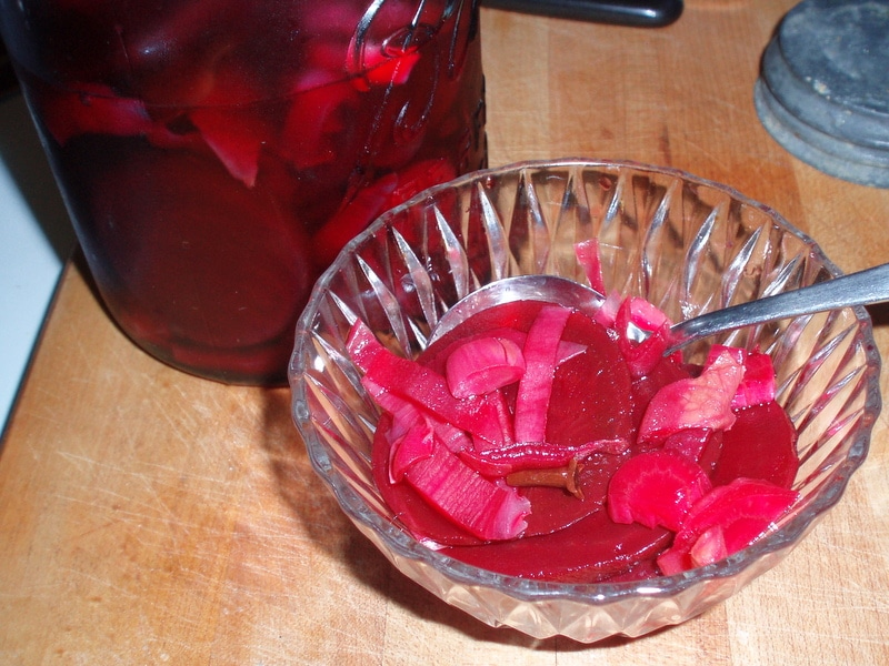 Pickled Beets and Endive - Inhabited Kitchen