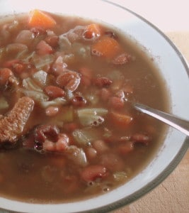 Warm and filling bean soup, with many variations