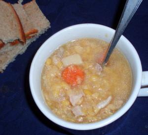 Yellow Split Pea Soup - Inhabited Kitchen