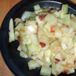 Cabbage and Potatoes, with Bacon
