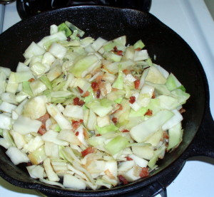 Cabbage and potatoes