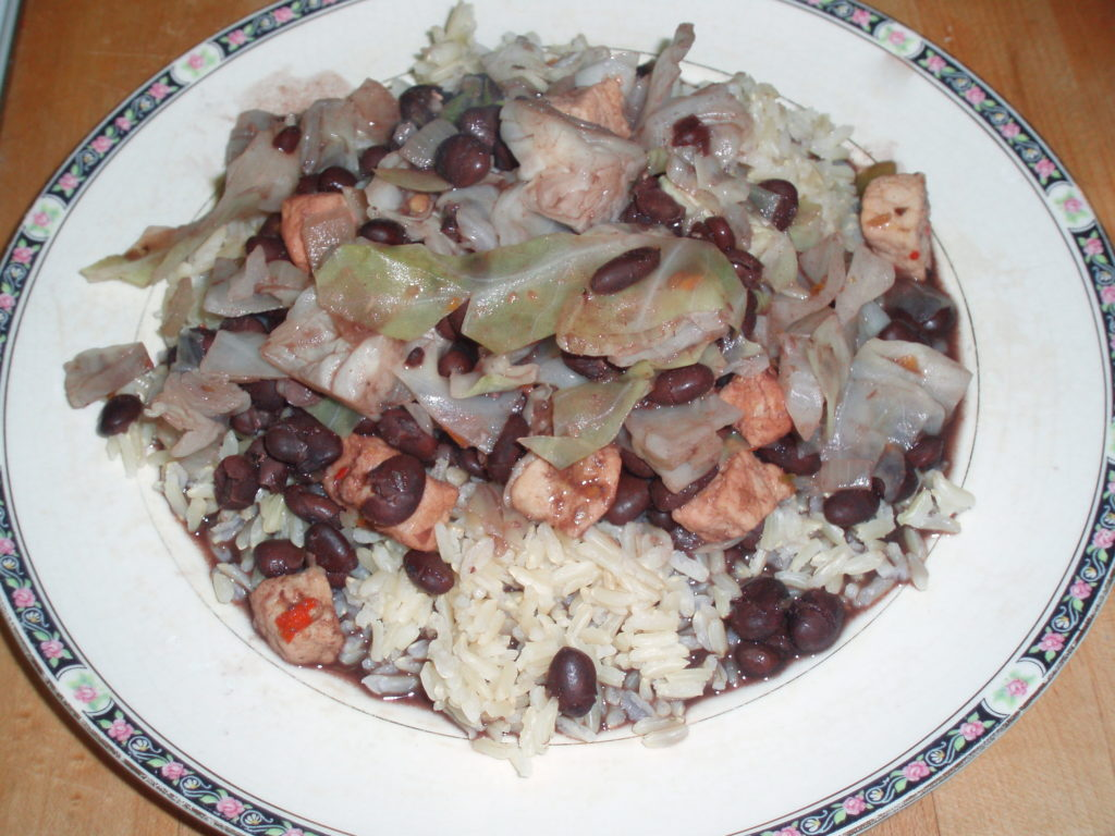 Black beans with Pork - inhabitedkitchen.com