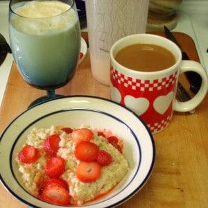 Breakfast - WIAW - Inhabited Kitchen