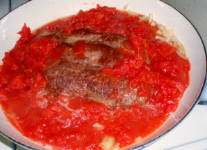 Swiss Steak in pan