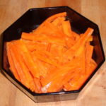 Ginger Orange Glazed Carrots
