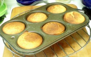 Baked Corn Muffins - www.inhabitedkitchen.com
