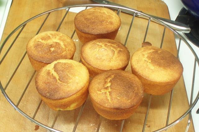 Wheat Free Corn Muffins - www.inhabitedkitchen.com