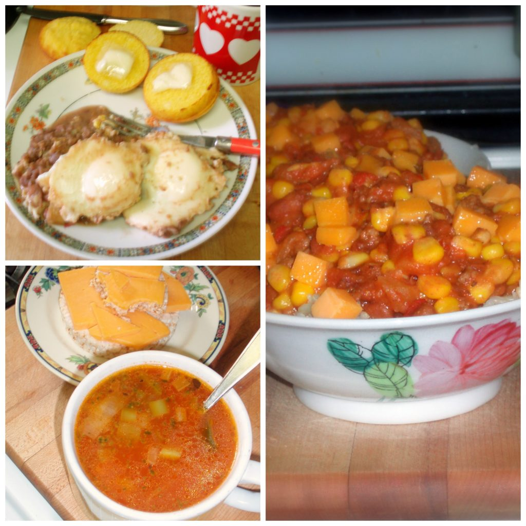 A snapshot of a day's food - www.inhabitedkitchen.com