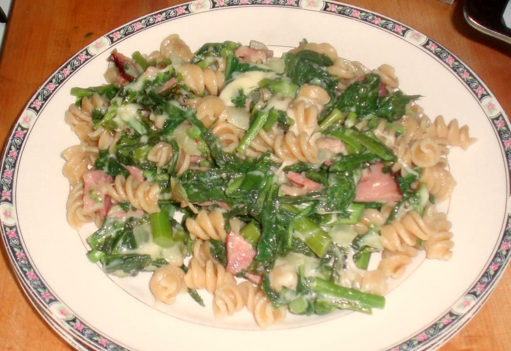 Broccoli Rabe and Pasta Toss - www.inhabitedkitchen.com
