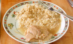 chicken with quick gravy - inhabitedkitchen.com