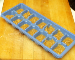 Frozen roux cubes - inhabitedkitchen.com