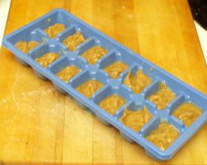 Frozen roux cubes - inhabitedkitchen.com