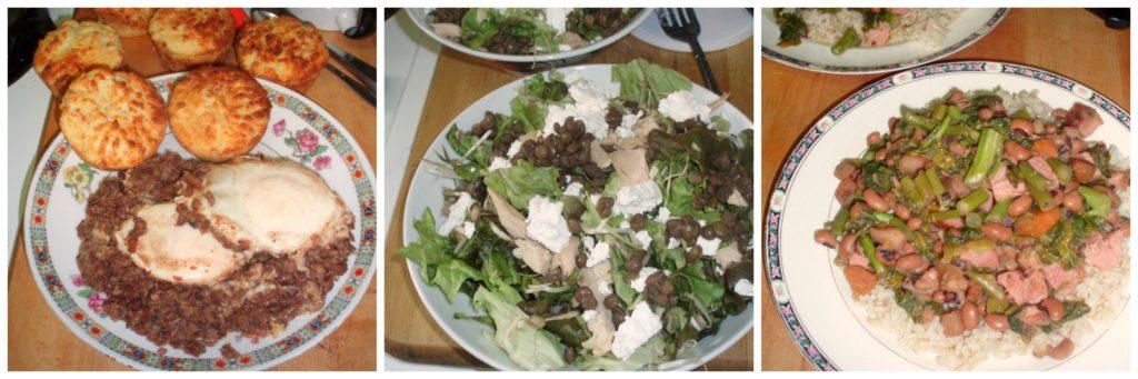 A day's meals - wwwinhabitedkitchen.com