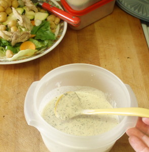 Homemade Buttermilk Dressing - www.inhabitedkitchen.com