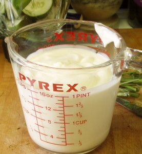 A pint of yogurt - www.inhabitedkitchen.com