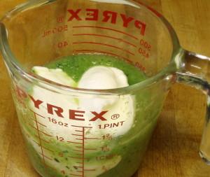 Addding yogurt to make 2 cups - www.inhabitedkitchen.com