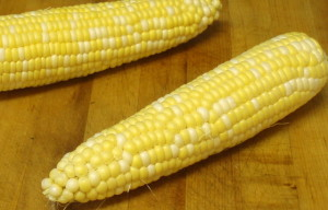 Corn on the cob - wwww.inhabitedkitchen