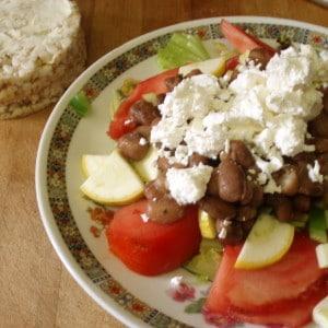 Lunch - High summer salad - inhabitedkitchen.com