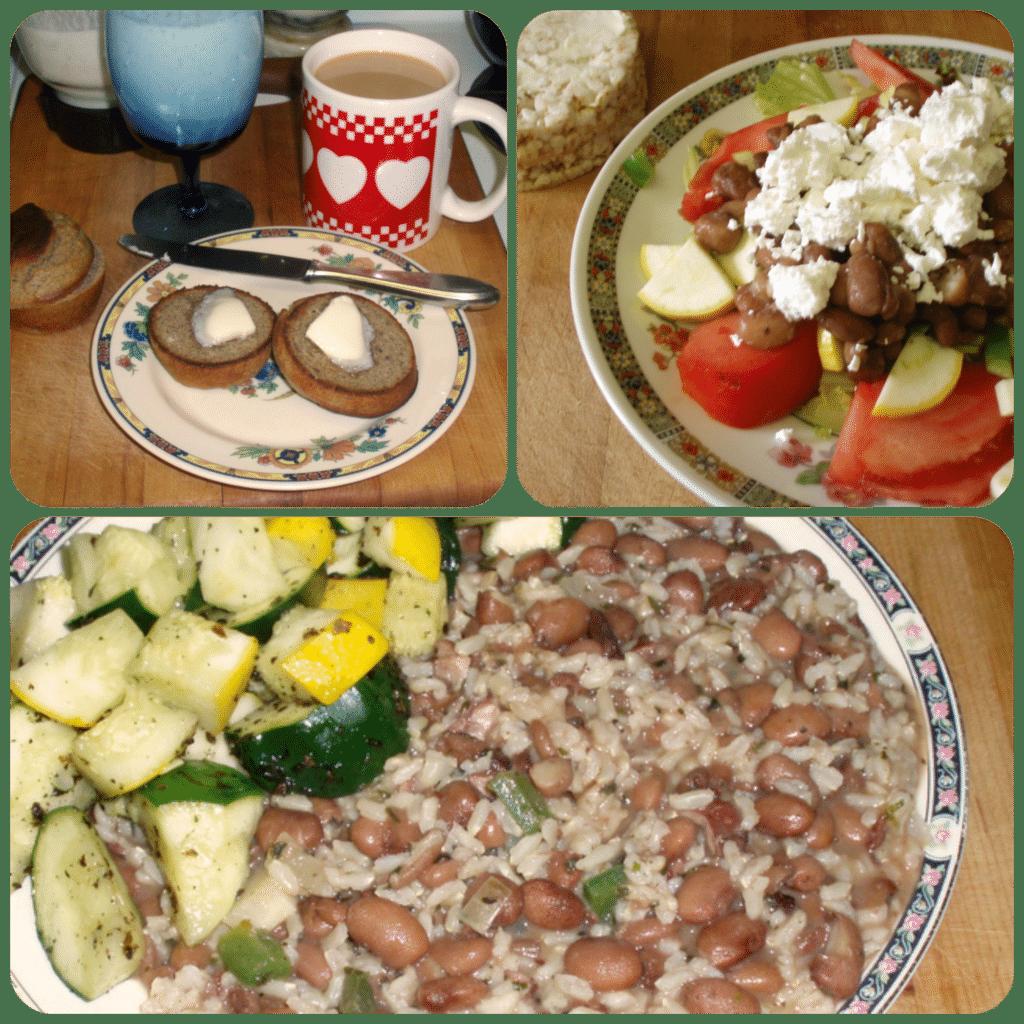 A Monday's Meals - www.inhabitedkitchen.com