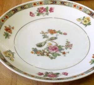 Grandma's Luncheon Plate - www.inhabitedkitchen.com