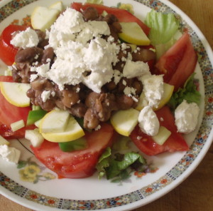 Salad lunch WIAW 33