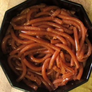 1-Bowl of savory worms - Inhabited Kitchen