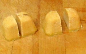 Golden corn roux cubes - www.inhabitedkitchen.com
