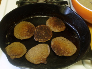 Buckwheat Pancakes! www.inhabitedkitchen.com