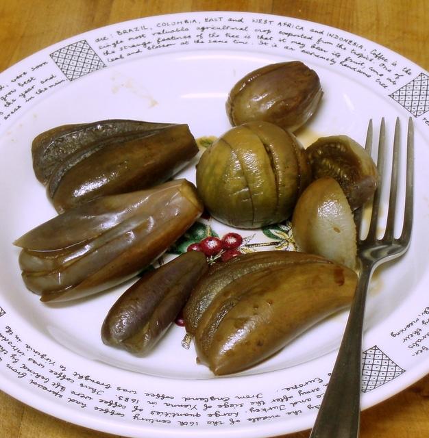 Simmered Baby Eggplant - www.inhabitedkitchen.com