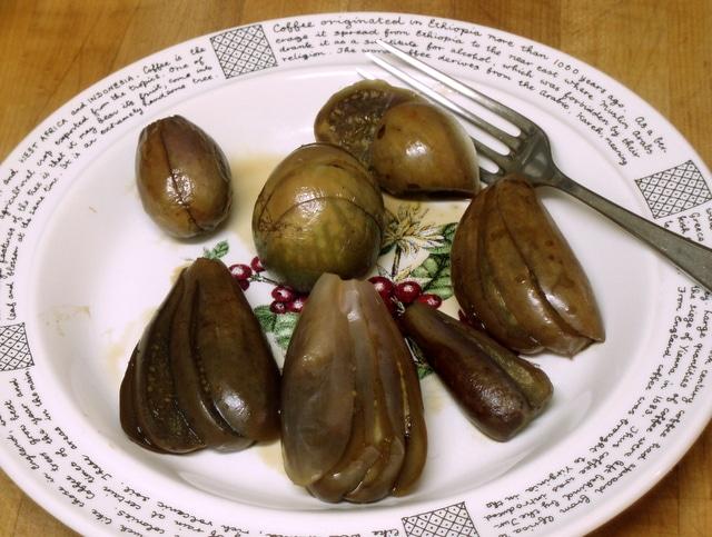 Simmered Eggplant - www.inhabitedkitchen.com
