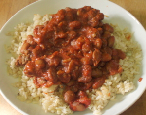 Lunch - quick chili - www.inhabitedkitchen.com