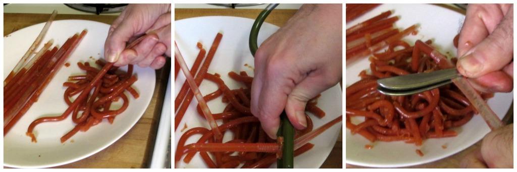 3 ways to release worms - www.inhabitedkitchen.com