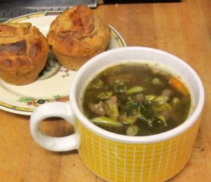 Soup, Muffins, Lunch - www.inhabitedkitchen.com