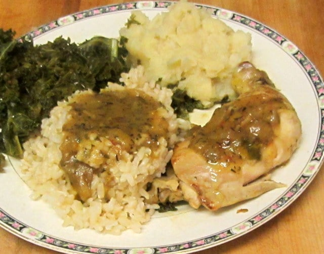 Easy chicken with Herb Gravy