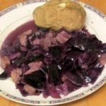 Red Cabbage Simmered with Pork