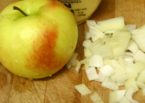 Apple, onion, mustard - www.inhabitedkitchen.com