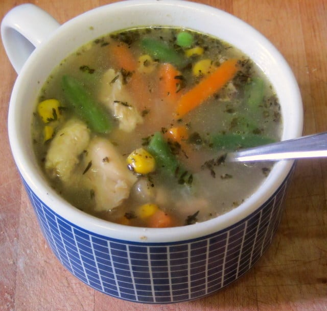 Easy Home Made Chicken Soup - www.inhabitedkitchen.com