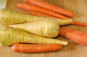 Parsnips and carrots - www.inhabitedkitchen.com
