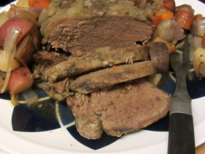 Basic slow cooker pot roast - assembles in minutes, cooks without attention, and is ready when you are. www.inhabitedkitchen.com
