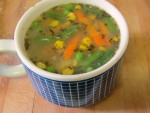 Quick chicken soup - www.inhabitedkitchen.com