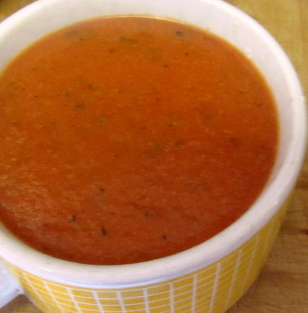 Almost Instant Tomato Soup