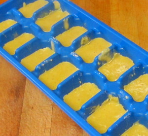 Freezing roux cubes - www.inhabitedkitchen.com
