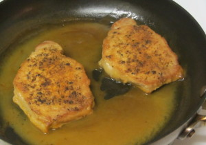 Orange Spiced Pork Chops, with sauce - www.inhabitedkitchen.com